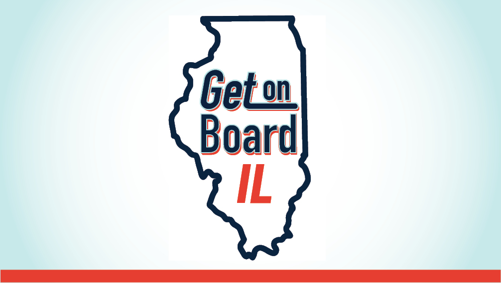 Get on Board IL logo