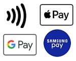 contactless card apple google samsung pay